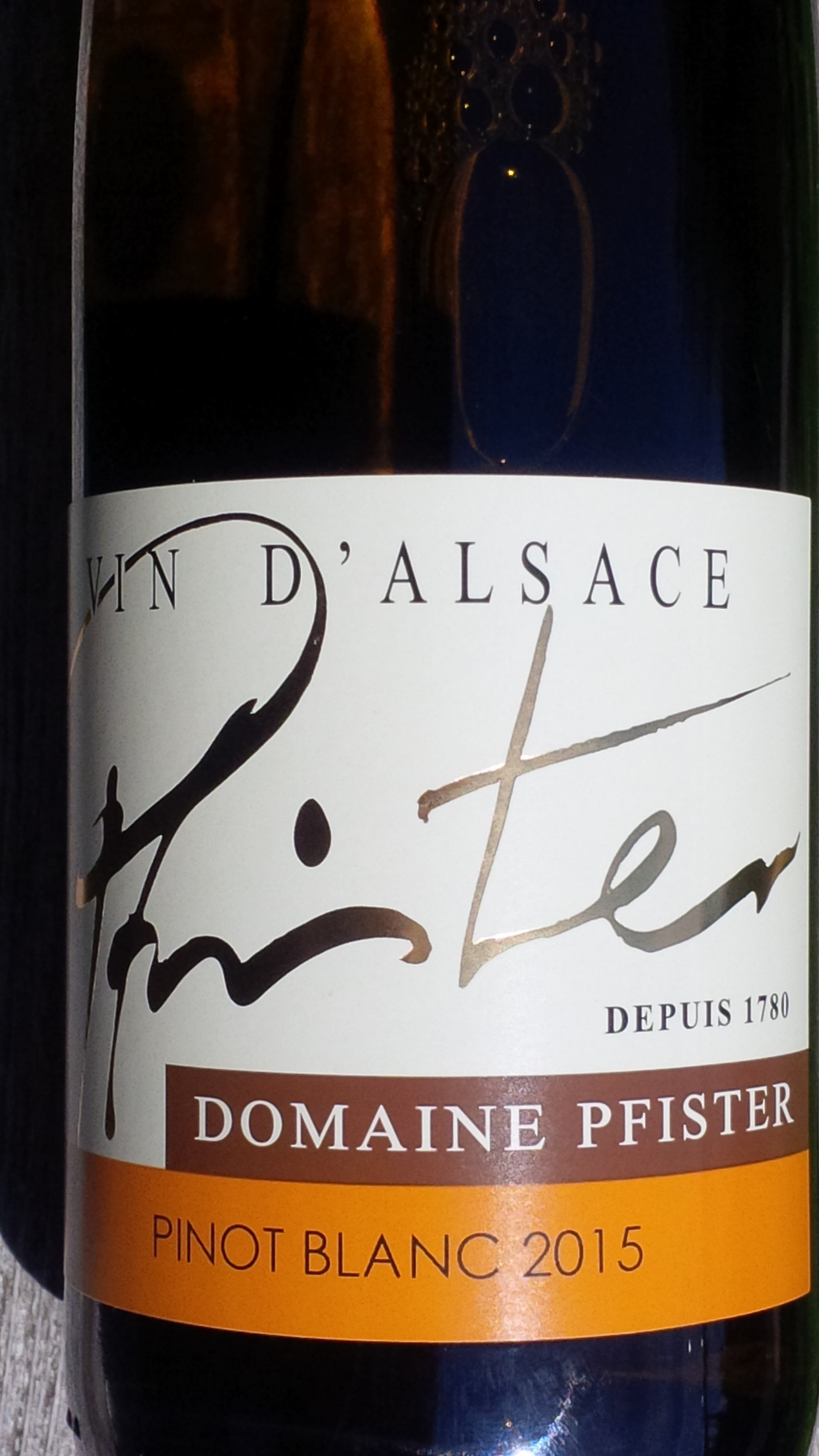 Pfister Pinot Blanc